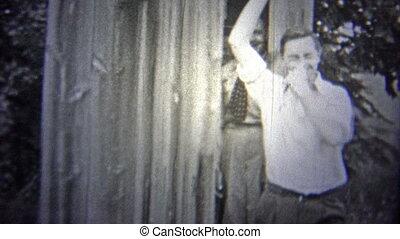 OKLAHOMA, USA - 1943: People - Original vintage 8mm home...