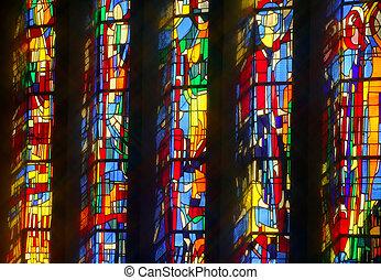 okna, kościół