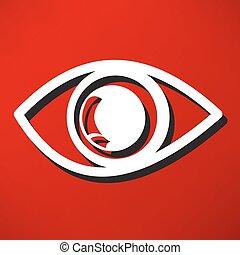 oko, ikona