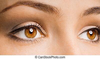 oko, piękno