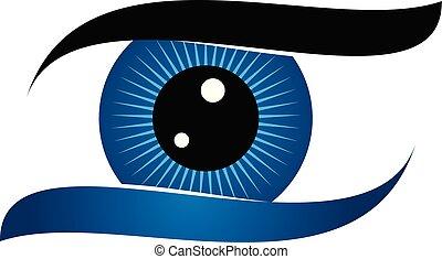 oko, rozłączenie, troska