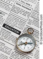 oktatás, hirdetés