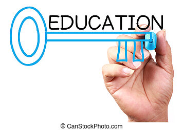 oktatás, kulcs