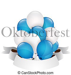 oktoberfest, balões, celebração