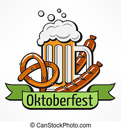 Oktoberfest banner text