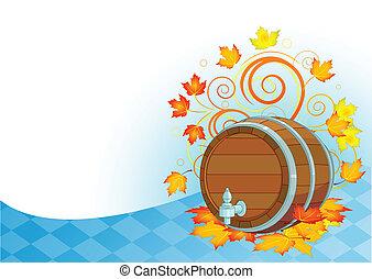 oktoberfest, barilotto, disegno