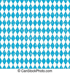 Oktoberfest Bavarian flag symbol background vector...