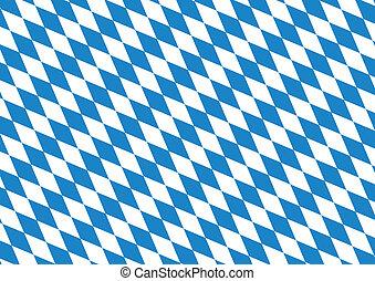 Oktoberfest blue background - Oktoberfest blue checkered...