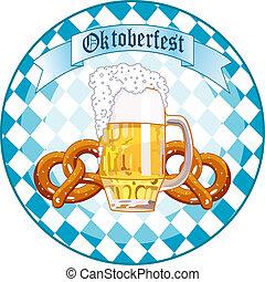 Oktoberfest Celebration round desi - Round Oktoberfest ...
