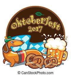 Oktoberfest celebration, vector banner series - Oktoberfest...