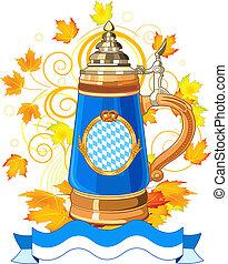 oktoberfest, celebrazione, disegno