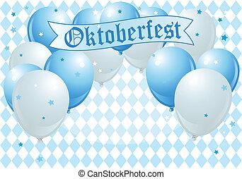 oktoberfest, de ballons van de viering