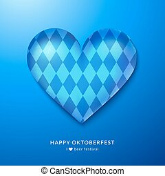 Oktoberfest decor, realistic vector illustration