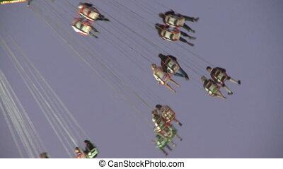 Oktoberfest Flying Swing Carousel - Flying swing carousel...