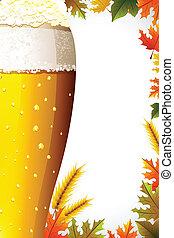 oktoberfest, fundo, celebração