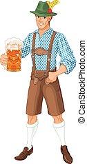 Oktoberfest Guy - Illustration of Oktoberfest guy ...