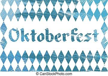Oktoberfest on the blue diamond.eps