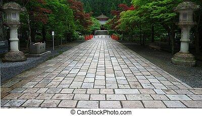 Okunoin Cemetery - Part of the Ancient Okunoin Cemetary, ...