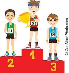 olímpico, vencedores