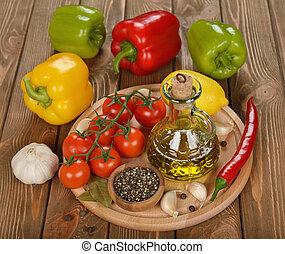 olívaolaj, és, növényi