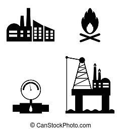 olaj, állhatatos, ikon