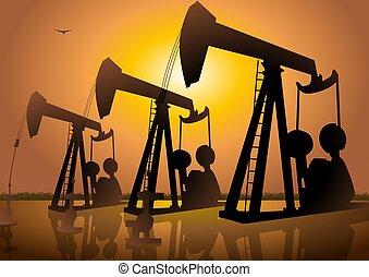 olaj fúrás