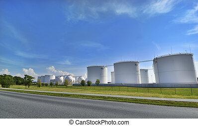 olaj, gyár
