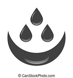 olaj, kőolaj, savanyúcukorka