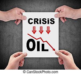 olaj, krízis, diagram