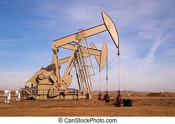 olaj, north dakota, fracking, gép, kitépés, pumpa orrárboczászló, éretlen