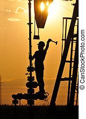 olaj, operater