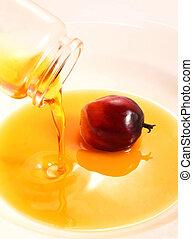 olaj pálma, főzés, gyümölcs