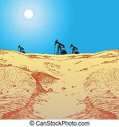 olaj pumpa, dezertál