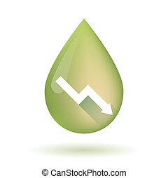 olajbogyó, ábra, csepp, olaj, ikon