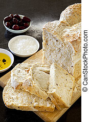 olajbogyó, bread