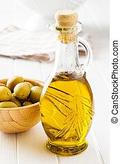 olajbogyó, oil., palack