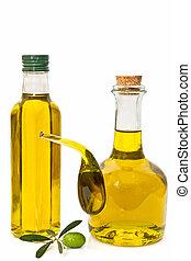 olajbogyó, palack, olaj