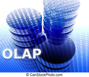 OLAP data illustration