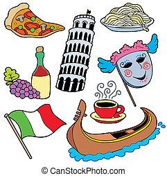 olasz, gyűjtés