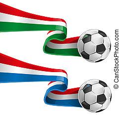 olaszország, és, france lobogó, noha, futball, b betű