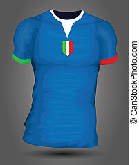 olaszország, futball, mez