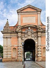 olaszország, galliera, bologna, porta