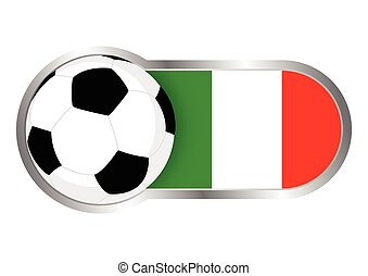 olaszország, jelvény, futballcsapat