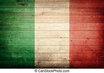 olaszország, nemzeti lobogó
