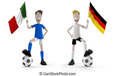 olaszország, vs, németország