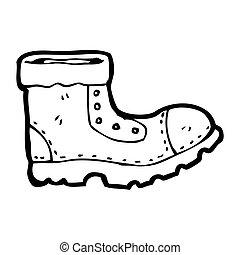 olc boot cartoon character