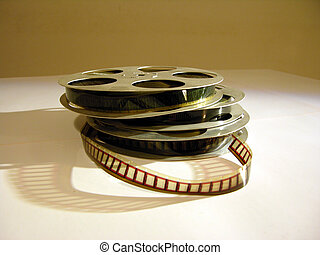 Old 16mm films. Note the moderate background noise
