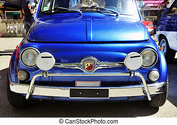 Old 500 racing equipped - Old Fiat 500 Abarth racing...