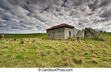 Old Abandoned Country Homestead Australia