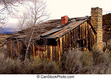 Old Abandoned Farm House